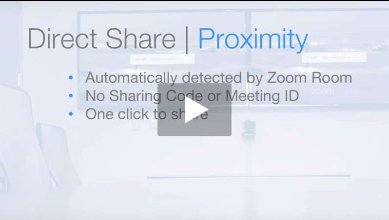 zoom rooms direct sharing