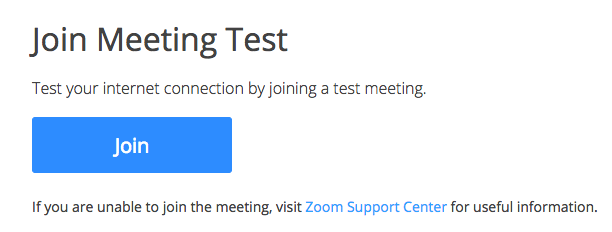 "Screenshot of Zoom ""Join"" button"