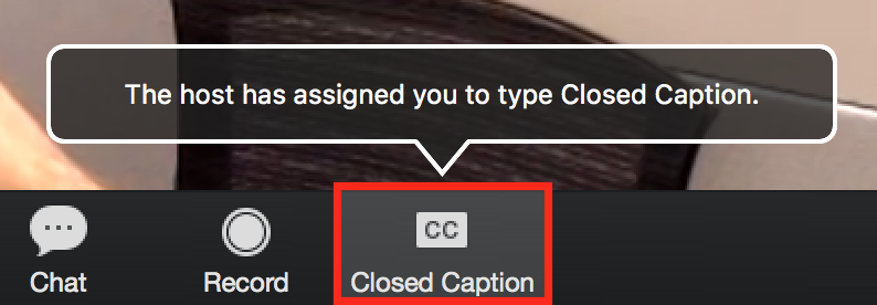 Closed Captions Notifications
