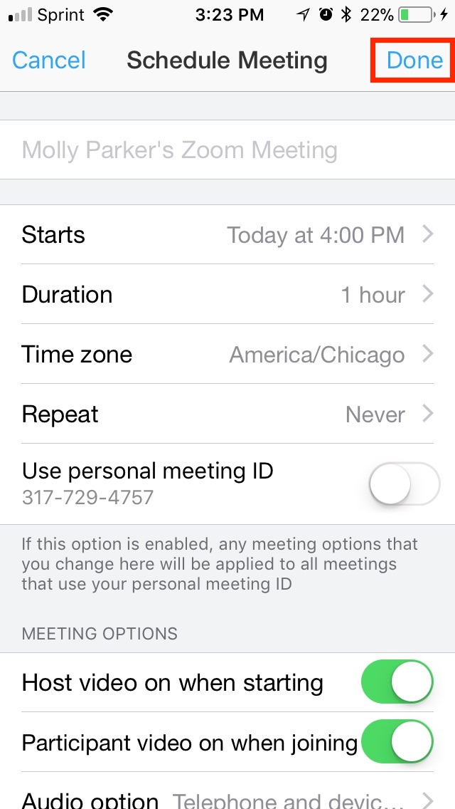 How Do I Schedule Meetings? – Zoom Help Center