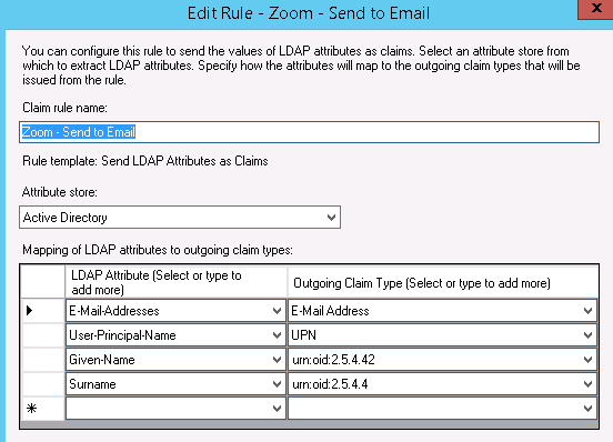 configuring zoom with adfs follow