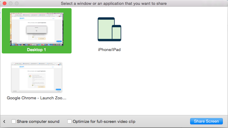 Meeting Rooms [Zoom] Screen Sharing/Mirroring with Zoom