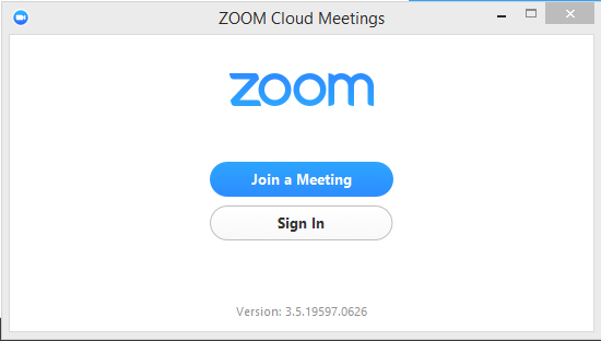 zoom application download for pc