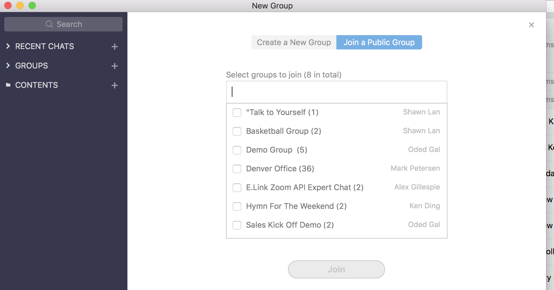 Top-Gruppen-Messaging-Apps