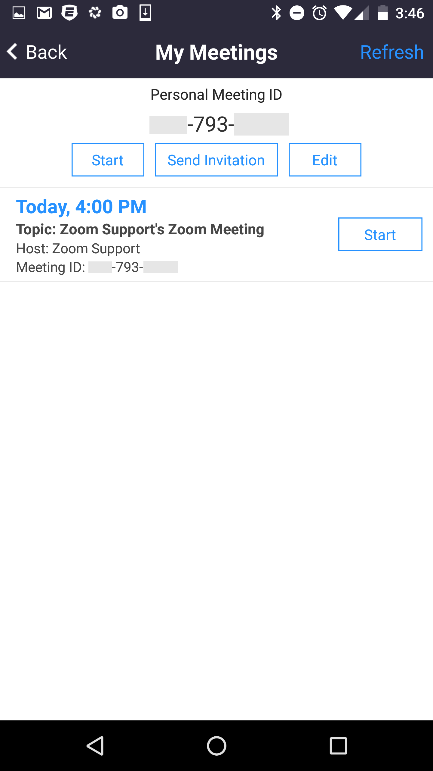 Schedule A Meeting  Schedule A Onetime Or Recurring Zoom Meeting